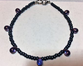 "Bracelet for women ""Drop of Amethyst"""