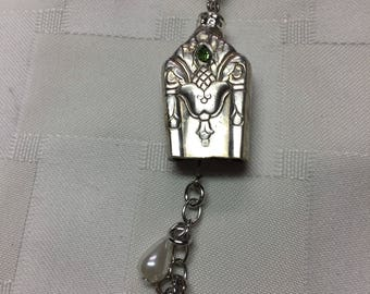 Silverware knife pendant