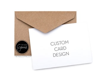 Custom FOLDED Greeting Card