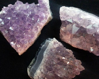 Amethyst Cluster -- Amethyst Crystal, Wiccan, Healing, Paranormal, Reiki - Gorgeous!