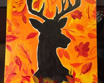 Herfst Stag