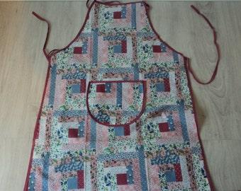 French vintage kitchen apron (03868)