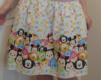 Handmade Disney Tsum Tsum Skirt