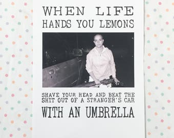 Lemons // print // 10 x 14