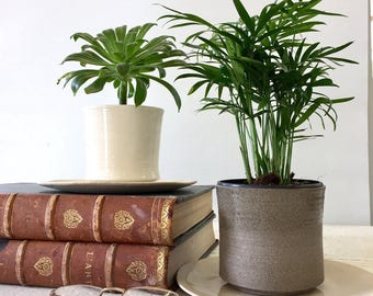 Ceramic planter, Pottery planter, Succulent planter, Modern planter, Cactus planter, Small planter, Indoor planter, plant pot, White planter
