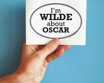 Wilde about Oscar sticker