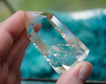 Polished Clear Quartz Crystal Wand Point (1.87oz)