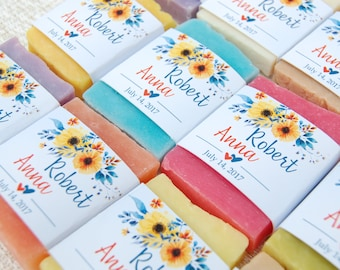 70 soap wedding favors bridal shower soap favors mini soaps wedding favor soaps homemade soap favors gifts for guests baby shower favors