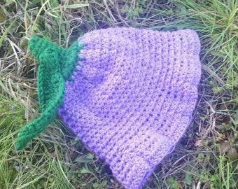 Sparkly Purple Tulip Sunhat