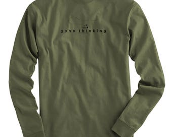 Fly Fishing Gear Fly Fishing Trout Shirt Fly Fishing Shirt Fishing Gift for Him Trout Fishing Fly Fisherman - Gone Fly Long Sleeve Tee