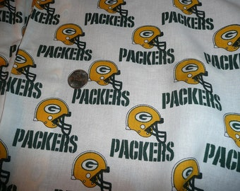 NFL Packers Cotton Fabric Print