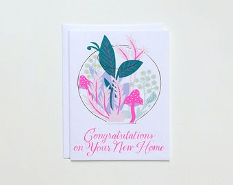 Congratulations on your New Home Note Card - housewarming