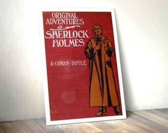 Sherlock Holmes Print Literary Gifts - Book Lover Gift, Literary Prints - Sherlock Poster, Sherlock BBC
