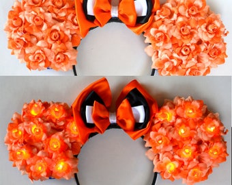 Light-Up Clown Fish Floral Mouse Ears