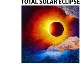 Idaho Total Solar Eclipse Poster