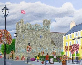 Dalkey Castle & The Queens 24x18