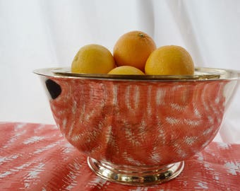 Set of 3 Silverplated Sons of Liberty Bowl by Paul Revere