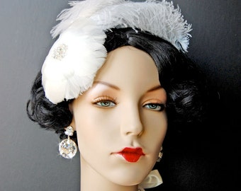 Wedding Earrings, Bridal Earrings, Chandelier Swarovski Crystal Cubic Zirconia Diamond Shaped Round Earrings, Wedding Accessories - Adeline