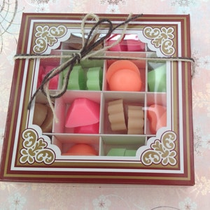 Wax melts.....in assorted chocolate flavours!