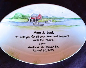 Wedding Gift for Parents, wedding gift for mom, wedding gift for dad, Thank you gift Mom and Dad - Parents gift- mother inlaw gift Riverview