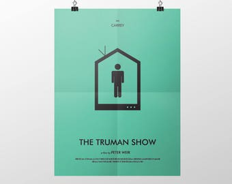 Movie Poster - The Truman Show - Decorative Digital Art