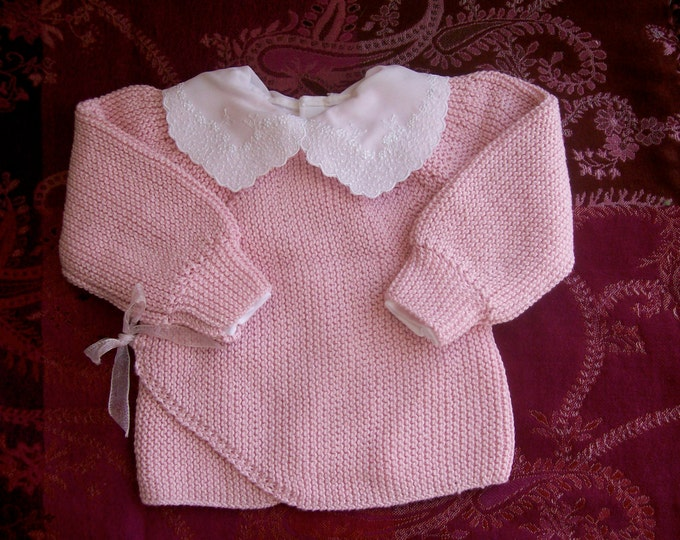 Pattern - Juliana's Baby Sweater to Knit