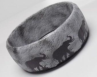 Elephant Bracelet - Elephant Jewelry - Elephant Gift - Safari Bangle - Handmade Gifts - Safari Jewelry - Elephant Bangle Bracelet