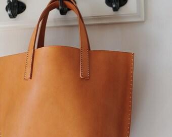 Artemis Leatherware Hand Stitched Leather Handbag