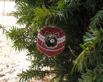 A Red Christmas Confection Ornament