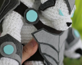 PATTERN:Volibear from League of Legends Amigurumi Doll