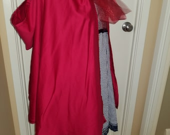 Adult and Child Red Riding Hood set