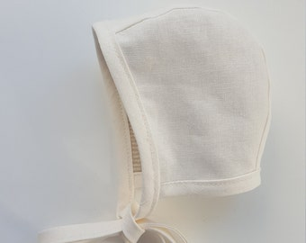 Classic Reversible Brimless Baby Bonnet