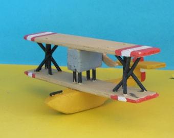 Hansa-Brandenburg Flying Boat Toy Airplane