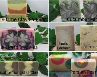 Handmade Cold Processed Citrus Blends 4 for 21.00. List scents in comment section prior to submitting order