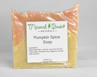 Pumpkin Spice Soap - VEGAN