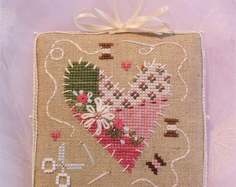INSTANT DOWNLOAD Cross Stitch Chart for Brooke's Books Bride's Tree ornament: 2 of 12 Love