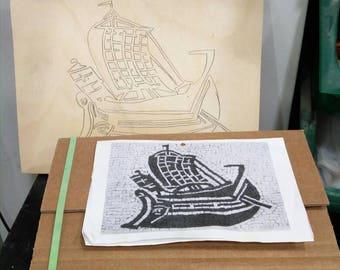 "Mosaic Kit ""Roman ship 1 """