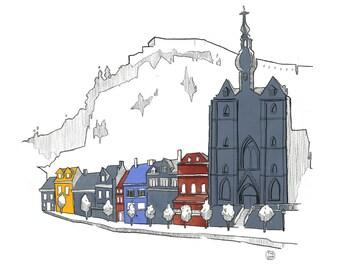 31 days in Belgium, day 21: Enchanting Dinant, Wallonia