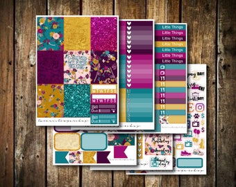 Dreams // Weekly Planner Sticker Kit (170+ Stickers)
