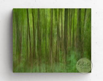 Forest Photography Printable, Abstract Forest Print, Printable Abstract Art, Printable Wall Art, Landscape Photography, Nature Photography