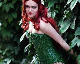 Poison Ivy from DC Comics Batman Cosplay Costume Gotham Sirens