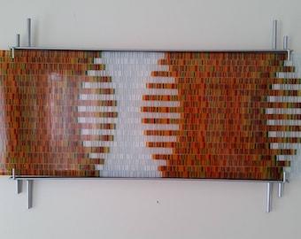 glass display wall hanger, very easy to hang