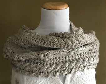 Dove Grey Cowl