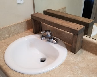 Custom Built Sink Organizer