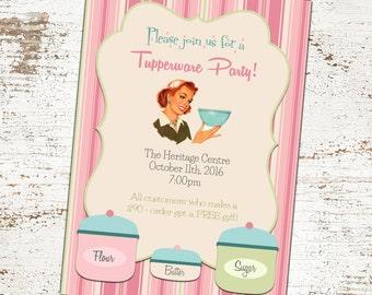 Tupperware Banner/ Tupperware Party/ Tupperware Event/