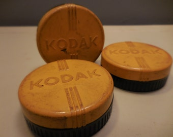 Vintage Kodak Filter Cases with Filters