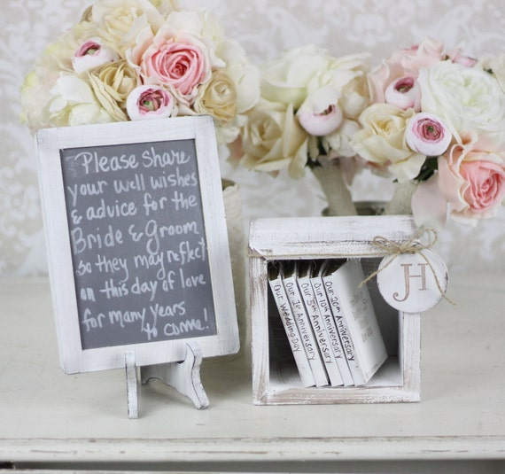 Shabby Chic Wedding Reception Ideas: Items Similar To Rustic Guest Book Alternative Shabby Chic