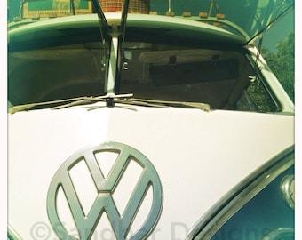 4 x 4 photo card-Stow away VW bus