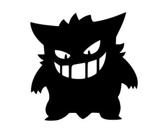 Gengar Pokemon SVG File!