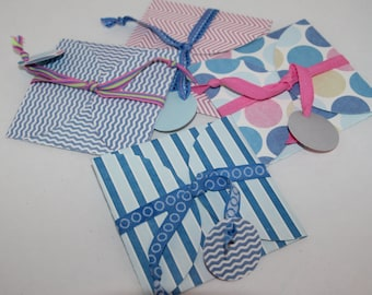 Gift Card Holders Set of 4